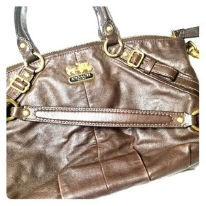 💗👜EUC Coach Madison Sophia medium satchel ROOMY!